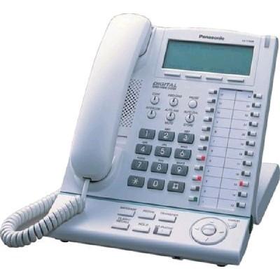 системный телефон Panasonic KX-T7633RU-W