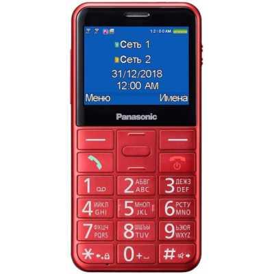 мобильный телефон Panasonic TU150 Red