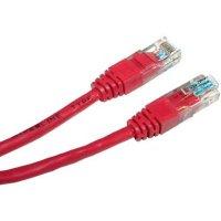 Hyperline PC-LPM-UTP-RJ45-RJ45-C6-0.5M-LSZH-RD