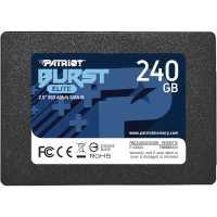 SSD диск Patriot Burst Elite 240Gb PBE240GS25SSDR