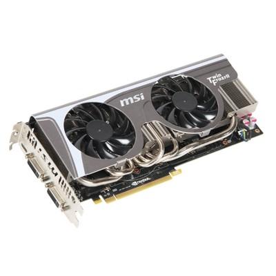 видеокарта PCI-Ex 1280Mb MSI GeForce GTX570/N570GTX