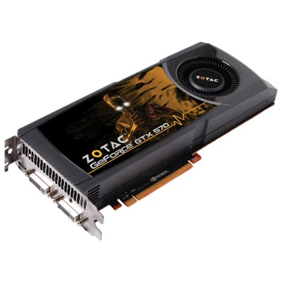 видеокарта PCI-Ex 1280Mb Zotac GTX570 ZT-50201-10P