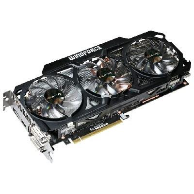 видеокарта PCI-Ex 4096Mb GigaByte GV-N770WF3-4GD