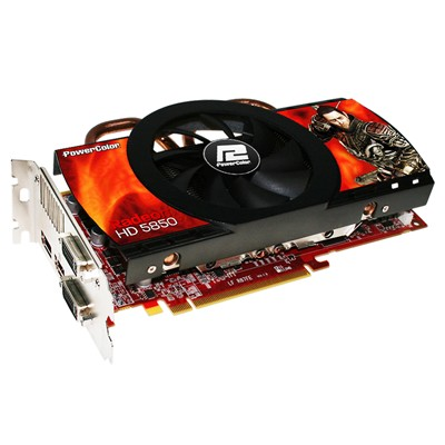 видеокарта PowerColor AX5850 1GBD5-DH