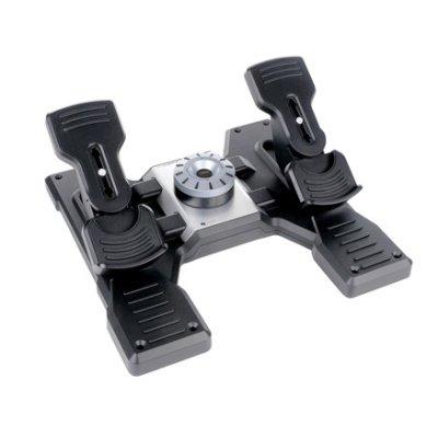 педали для авиасимуляторов Logitech Flight Rudder Pedals 945-000005
