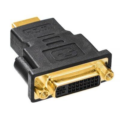 переходник Buro HDMI-19M-DVI-D-F-ADPT