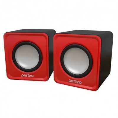 колонки Perfeo Wave Red PF-128-R