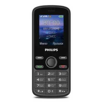 мобильный телефон Philips Xenium E111 Black