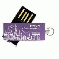 Флешка PNY 8GB USB Lovely. Paris PFU6008-PP