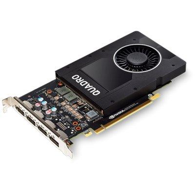 видеокарта PNY nVidia Quadro P2000 5Gb VCQP2000-BLS