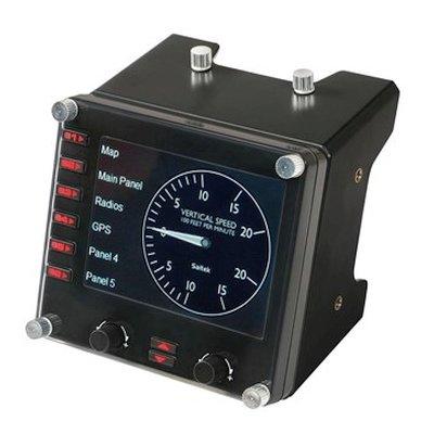 приборная панель Logitech G Flight Instrument Panel  945-000008
