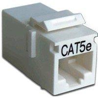 Проходной адаптер Hyperline CA2-KJ-C5e-WH