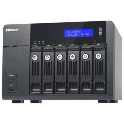 сетевое хранилище Qnap TS-670 Pro