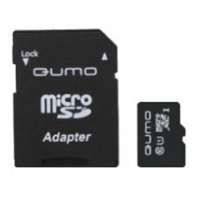 карта памяти Qumo 128GB QM128GMICSDXC10U1