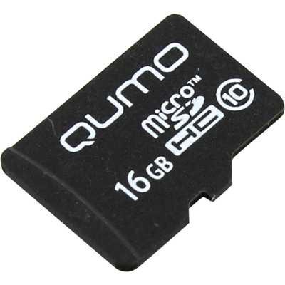 карта памяти Qumo 16GB QM16GMICSDHC10NA