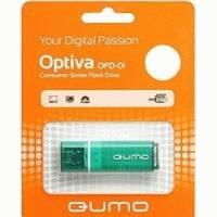 Флешка Qumo 16GB QM16GUD-OP1-green