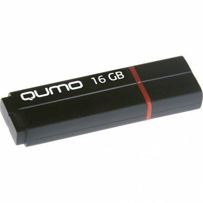 флешка Qumo 16GB QM16GUD3-SP-black