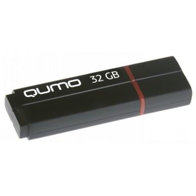 флешка Qumo 32GB QM32GUD3-SP-black