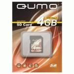 Карта памяти Qumo 4GB Secure Digital High-Capacity Class 6
