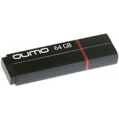 флешка Qumo 64GB QM64GUD3-SP-black