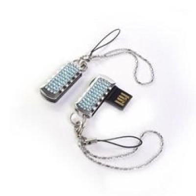 флешка Qumo 8GB QM8GUD-Charm-Ice-b