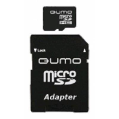 карта памяти Qumo 8GB QM8GMICSDHC10