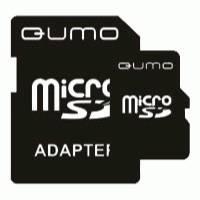 Карта памяти Qumo 8GB QM8GMICSDHC4