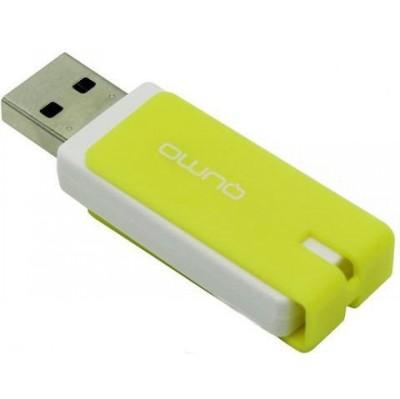 флешка Qumo 8GB QM8GUD-CLK-Lemon