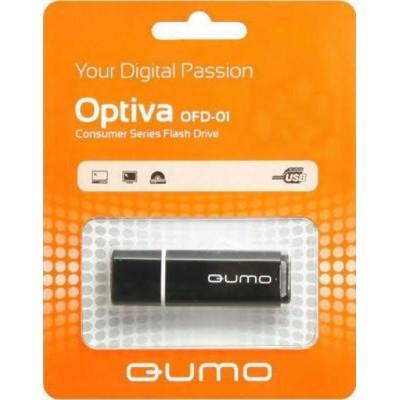 флешка Qumo 8GB QM8GUD-OP1-black
