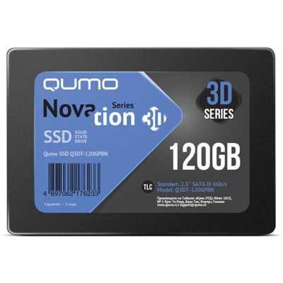 SSD диск Qumo Novation 3D 120Gb Q3DT-120GPBN