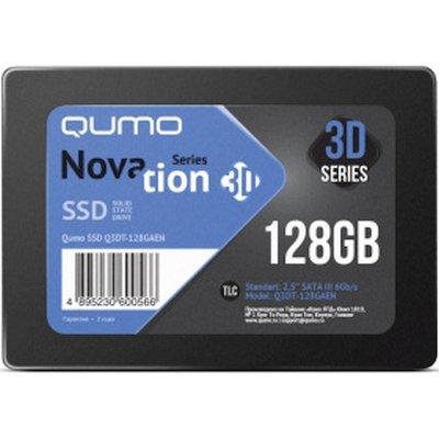 SSD диск Qumo Novation 3D 128Gb Q3DT-128GAEN