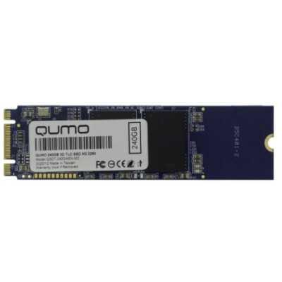 SSD диск Qumo Novation 3D 240Gb Q3DT-240GAEN-M2