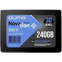 SSD диск Qumo Novation 3D 240Gb Q3DT-240GPBN/GPPN