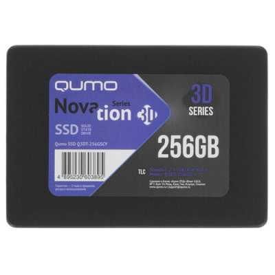 SSD диск Qumo Novation 3D 256Gb Q3DT-256GSCY