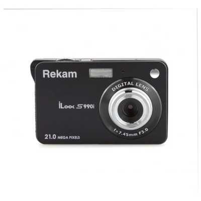 фотоаппарат Rekam iLook S990i Black