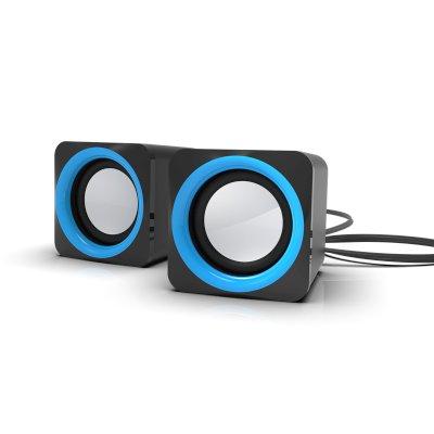 колонки Ritmix SP-2025 Black-Blue