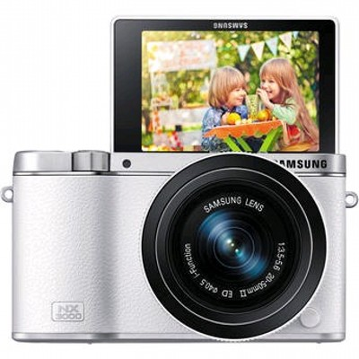 фотоаппарат Samsung NX3000 KIT Silver/White