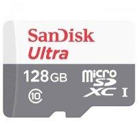 Карта памяти SanDisk 128GB SDSQUNS-128G-GN6MN