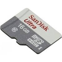 Карта памяти SanDisk 16GB SDSQUNB-016G-GN3MN