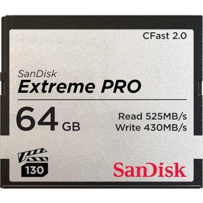 карта памяти SanDisk 64GB SDCFSP-064G-G46D