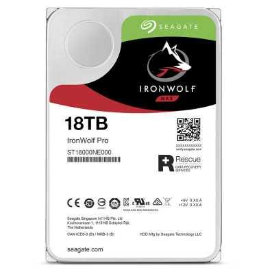 жесткий диск Seagate IronWolf Pro 18Tb ST18000NE000