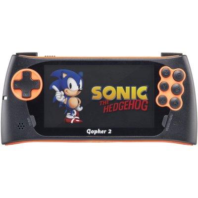 игровая приставка SEGA Genesis Gopher 2 Black-Orange CONSKDN50
