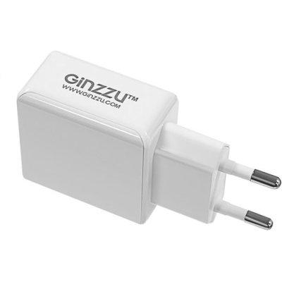 сетевое зарядное устройство Ginzzu GA-3313UW