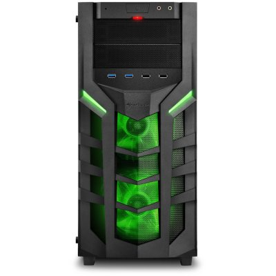 корпус Sharkoon DG7000-G Green
