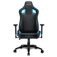 Игровое кресло Sharkoon Elbrus 2 Black-Blue