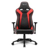 Игровое кресло Sharkoon Elbrus 3 Black-Red