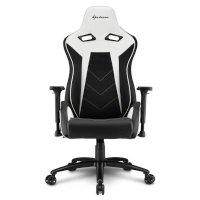 Игровое кресло Sharkoon Elbrus 3 Black-White