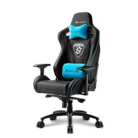 Игровое кресло Sharkoon Shark Skiller SGS4 Black-Blue