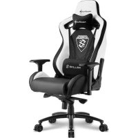 Игровое кресло Sharkoon Shark Skiller SGS4 Black-White