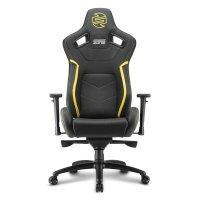 Игровое кресло Sharkoon Shark Zone GS10 Black-Yellow